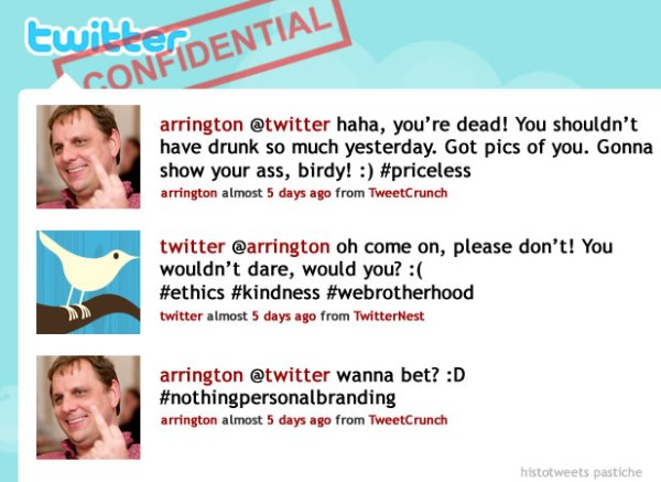 histotweet Arrington twitter